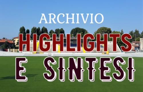 Archivio Video stagione 2019/2020