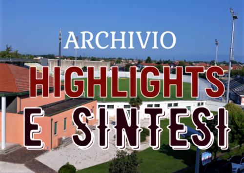 Archivio Video stagione 2018/2019